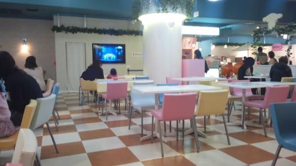 サンリオピューロランド4階ドリームカフェ