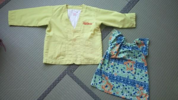 ハワイアンズの子供用の服