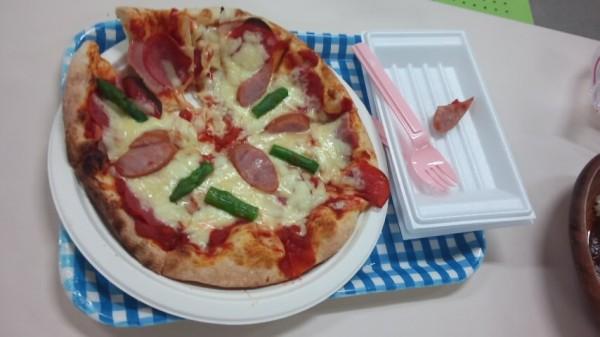 ハワイアンズにあるマルゲリータのピザ