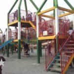 「上尾丸山公園」は、小動物コーナーや広い芝生、長い滑り台付き遊具など、子供が楽しめる要素がいっぱいの公園でした。
