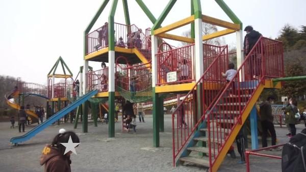 上尾丸山公園の大型遊具
