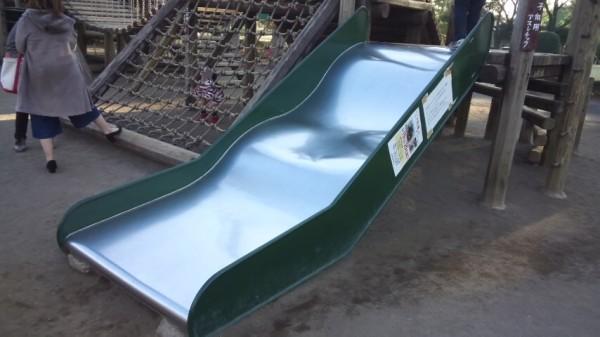 サイボクハムのミニアスレチックにある滑り台