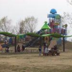 「羽生水郷公園」は高くてダイナミックな遊具や幼児向けの遊具があって、子供が大満足の公園でした。