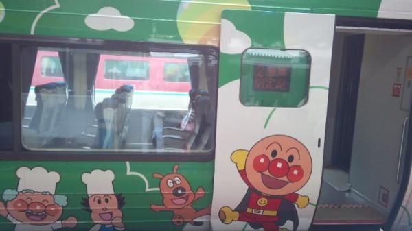 南風3号のアンパンマン列車