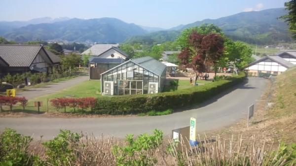 川場田園プラザのちびっ子ゲレンデからの景色