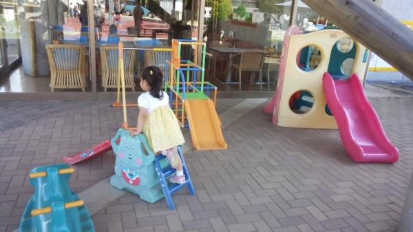 キヤッセ羽生の小さい子向け遊具