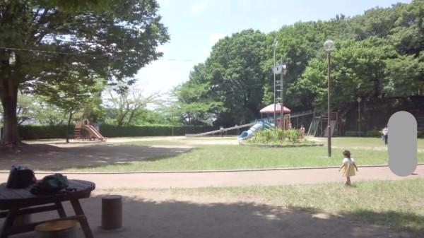 内牧公園のピクニック広場