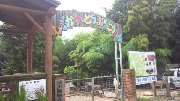 渋川動物園の入り口