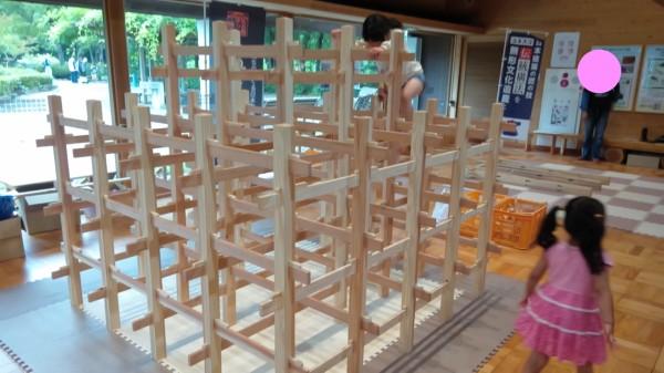深谷農林公園木材文化館