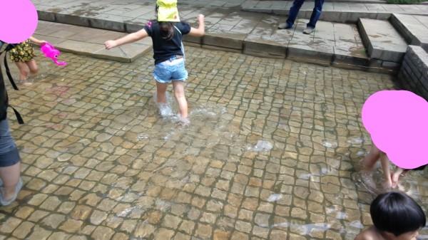 とちぎわんぱく公園 水遊び